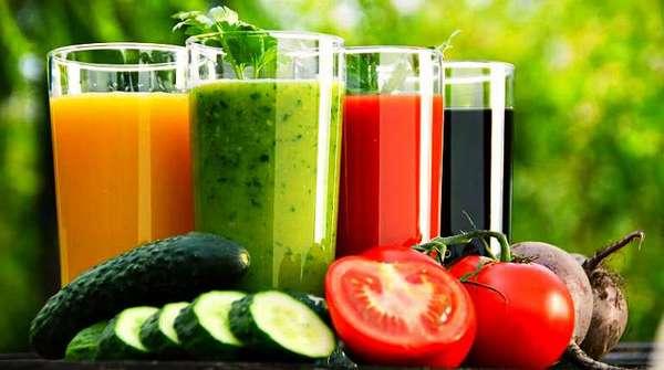 Лечебные овощные соки